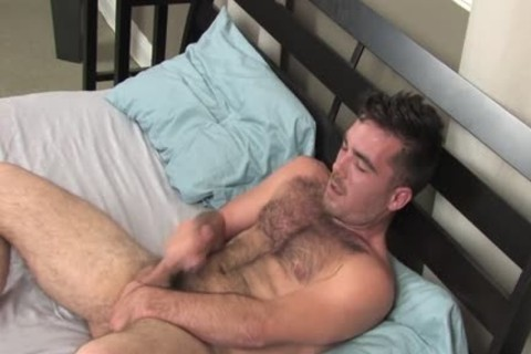 Colton Masturbates Alone In daybed