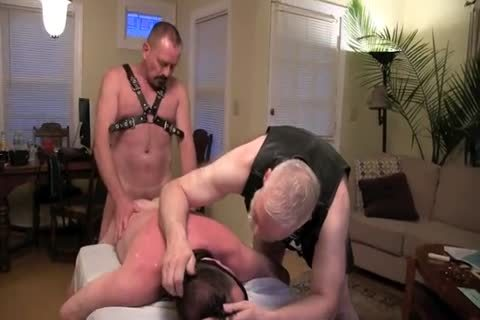 This enchanting Masochist Wanted To Celebrate His Birthday With Me And Deeperdoug, And We Were greater amount Than cheerful To Oblige.  The First Two Parts Are delicious Much All bdsm, The Third Is A Mix Or SM And Sex And The Fourth Is All About Sex!