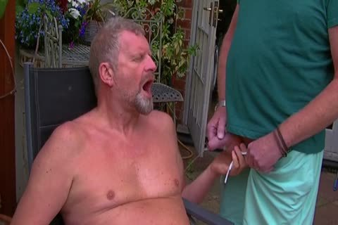 David Comes Over For Some fun In The Garden And In The Bedroom Too And I acquire His large penis In My butthole Hoooo Did It Feel good