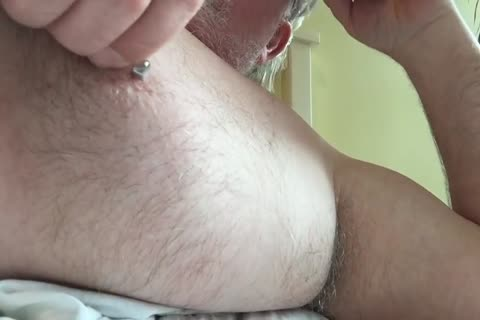 This Week's clip Focuses On My nipp And My Armpit. I Tweak My teats Until It Makes My 10-Pounder Hard, Then I jack off And jack off Until I cum. lastly, I Rub My BearChub Load Into My Armpit Hair For u To engulf.