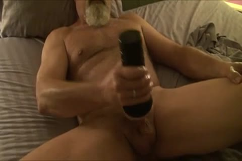 straight Daddy Fleshlight pleasure