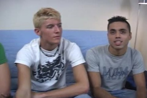 moist legal age teenager twinks Threeway nailing