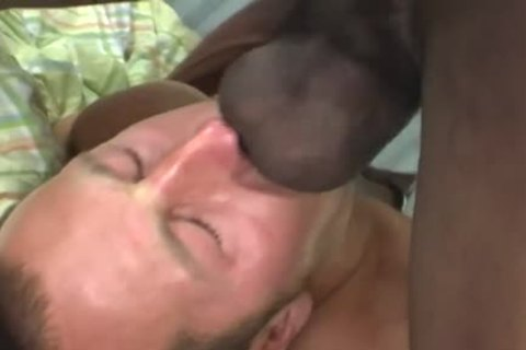 White guy Deepthroating A biggest dark penis