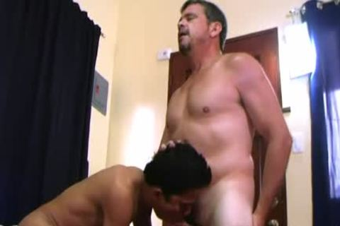 Daddy And Alex plow