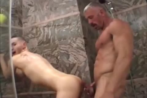 Muscled Not daddy bangs Raunchy lad