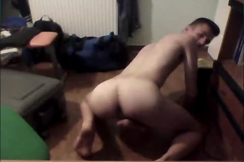 Super juicy brawny lad With gigantic rod Cums On web camera, fucking juicy wazoo