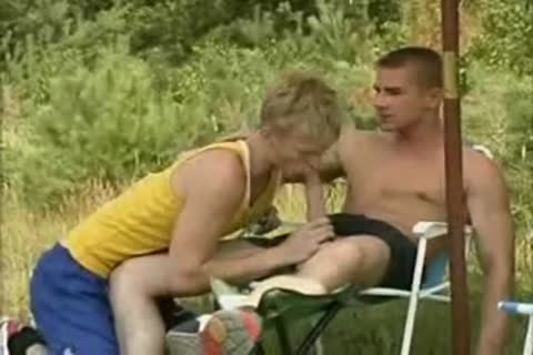 blonde Runner gets hammered By Two boys.flv