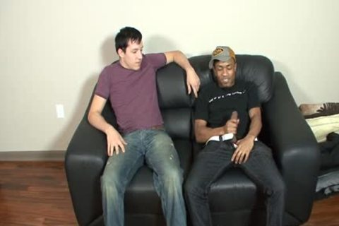 black Haired White lad acquires gangbanged By A black Thug
