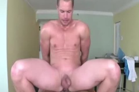 homosexual anal For Hunks mad For anal During The Massage Session