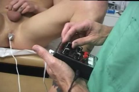 blond twink Toyed & Sucked By Doctor