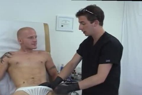Doctor Fingering Patients butthole