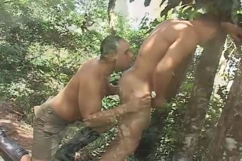 yummy homosexual Sucks Hard penis Then acquires poked Outside