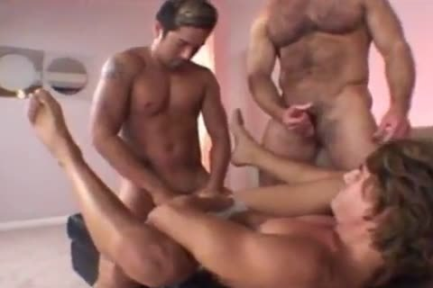 Two Muscled Open The sleazy butt Of Adam - Chacal