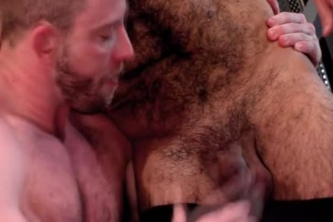 muscular gay cum Sprayed