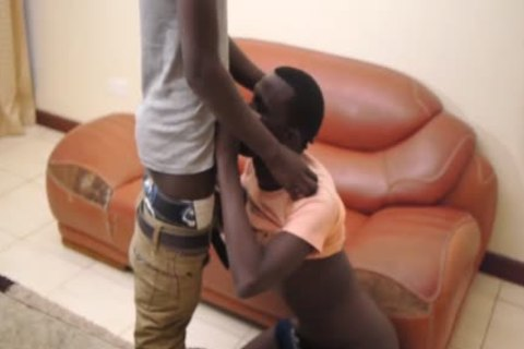black African twinks Dulani And Manu pound unprotected