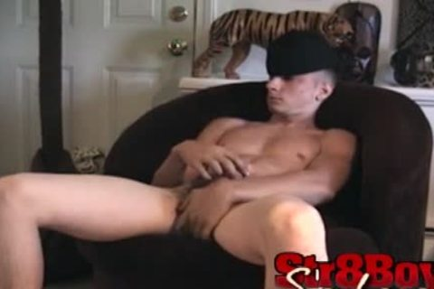 A palatable Load Of Straight twink cum
