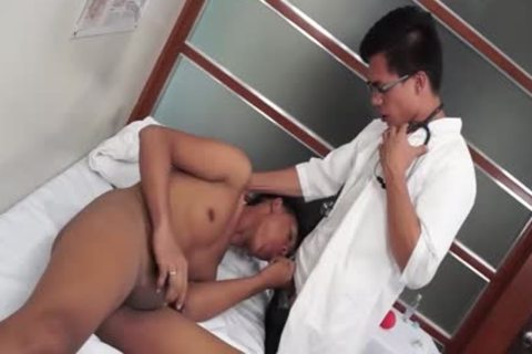 Lustful asians acquire facual cumshots