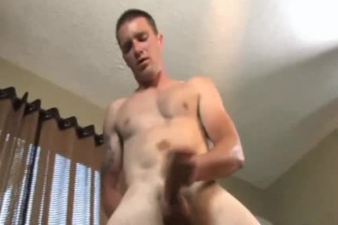 Awkward homosexual boy Jerks Off And Shows ass