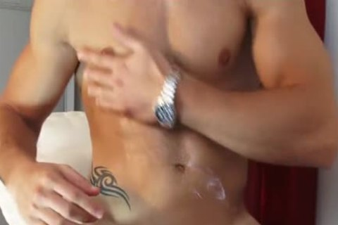My Gym Trainer Made A Orn video: Watch His humongous penis acquires Wanked!