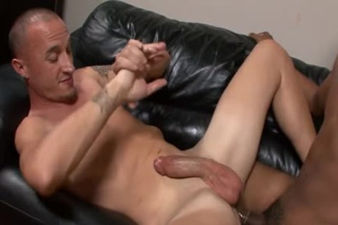 Austin Dallas gets His anal poked By A black twink