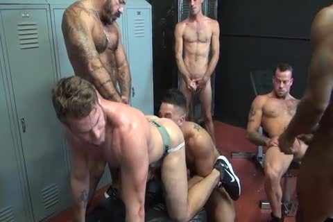 Enjoyable homo boyz ace gangbang