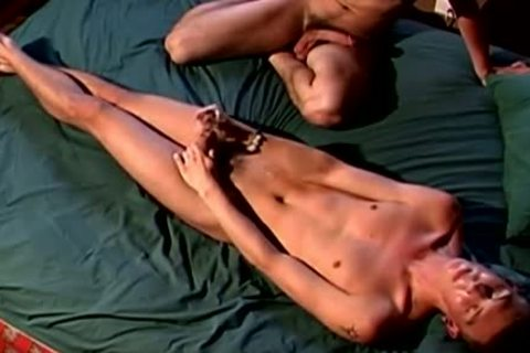 twinks trio suck job stimulation whilst video Taping