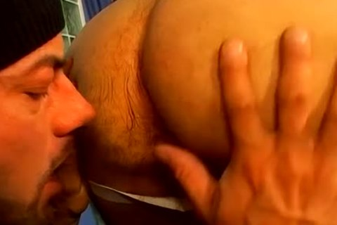large gay Bearded Daddy Hard wazoo nailed A tasty Buffy Hunk