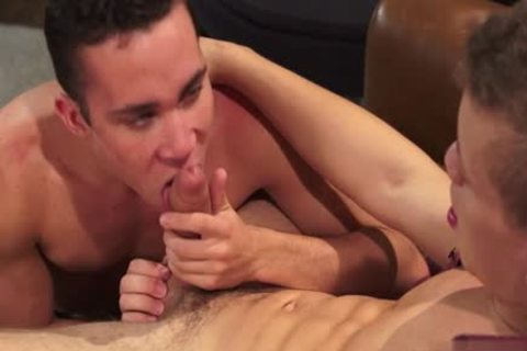 large cock twink rimming And cum In wazoo