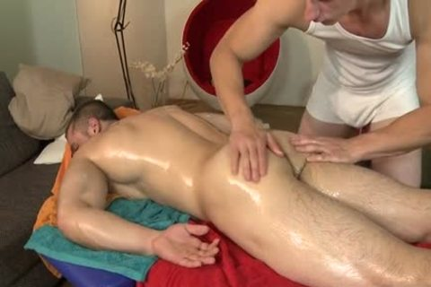Muscle Daddy ace bang With Massage