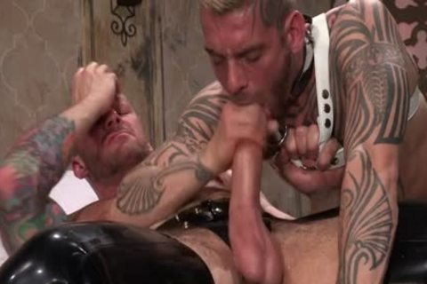 Muscle homosexuals Fetish With cum flow