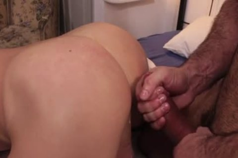 Shaggy gay 3some and ejaculation