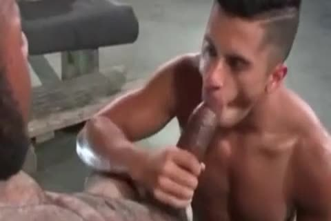 A Very tasty Latino homosexual guy Likes Some coarse Greek From A enormous African Shaft