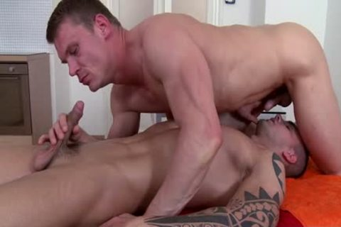 Muscle Daddy wazoo plow And Massage
