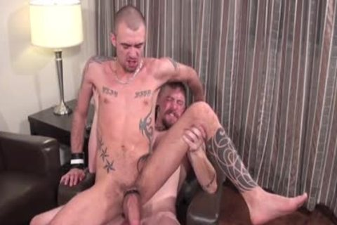 Muscle Son fellatio-sex With spooge flow