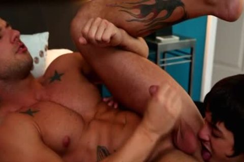Tattoo homosexual ace pound and ejaculation