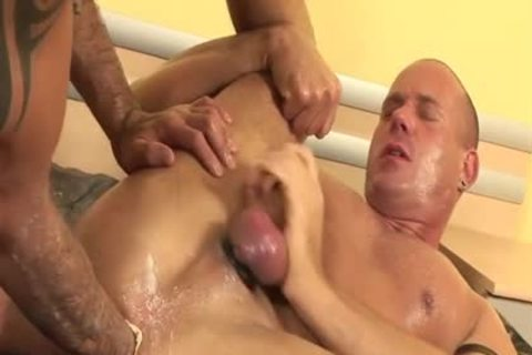 large penis homosexual piss And spunk flow