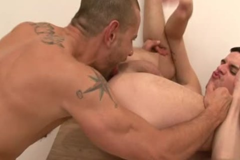 Large cock homosexual pooper sex with ejaculation