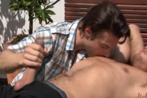 hot homo wazoo stab With cumshot