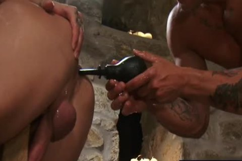 Tattoo homosexual butthole sex And Facial