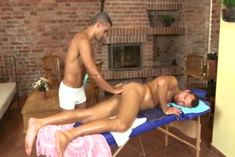 filthy Daddy oral-sex With Massage