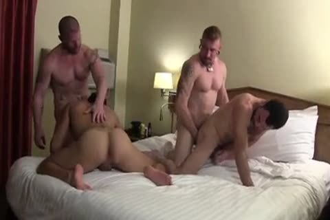 Muscle raw orgy