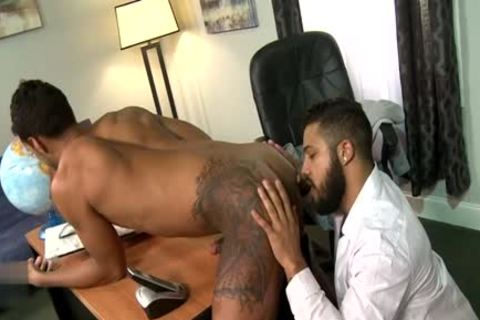 Latin homo oral-job And Facial