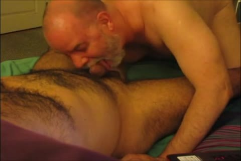 Sensuous engulfing For A hairy Senor