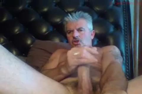 older stud Smashes His penis