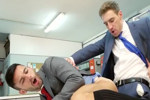 Office gay cock sucked