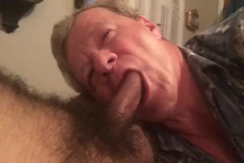 Fag Sucks BBC, Balls, butthole, And Takes two spooge facials