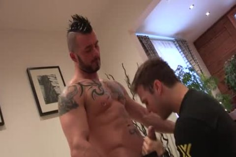 Wild homo ass job and cumshot