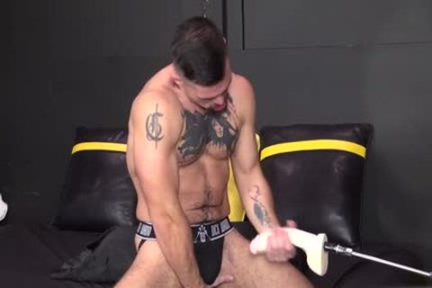 Muscle homo Fetish With cream flow