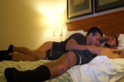 lovely Puerto Rican Straight guy bonks homo anal For
