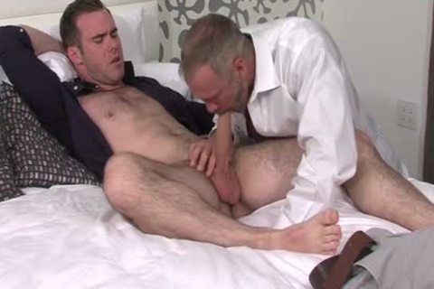 Silver Fox Dallas Steele And Clean Cut wang Matthew Bosch sperm together